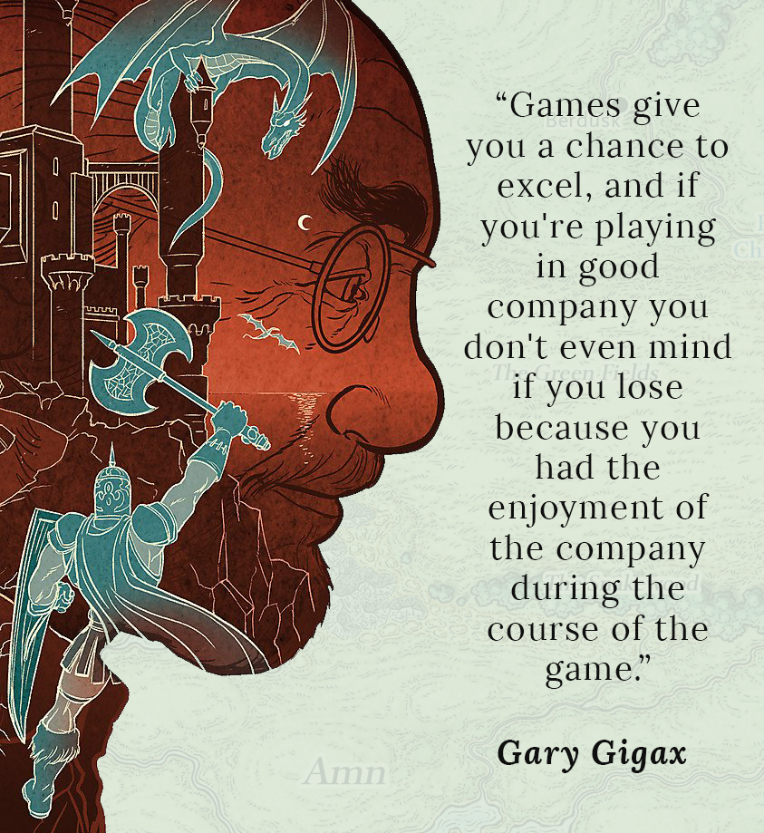 Gary Gygax quote